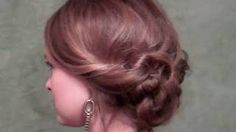 Twist and Go! Updo for girls on the go, via YouTube.