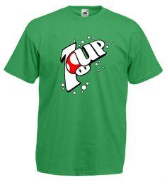 #Super #Mario #Brother #Mens #Tshirt #1up #mushroom