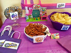 Little Pink Casa: Hadara's Shopkins Birthday Party on a Budget!