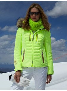 nica-dtp jacket with fur