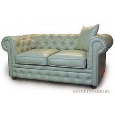 Купить кожаный диван честерфилд на заказ в Москве раскладной, угловой диван честер (Chesterfield)