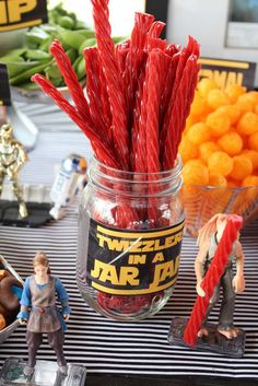 Star Wars Birthday Party Ideas | Photo 10 of 24 | Catch My Party