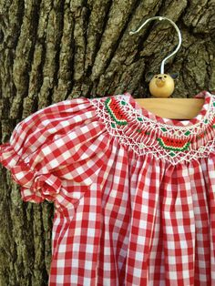 Watermelon and Gingham....Love