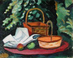 August Macke (1887-1914), Still life, 1911