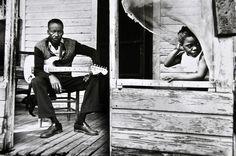 "James ""Son"" Thomas, Leland, Mississippi, 1978. by Val Wilmer, (Valerie Wilmer)"