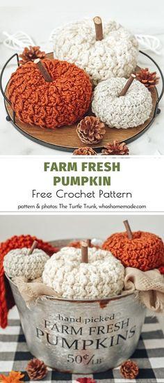 Thanksgiving Crochet, Holiday Crochet, Crochet Home, Crochet Crafts, Crochet Projects, Free Crochet, Knit Crochet, Autumn Crochet, Crotchet