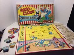 "Bozo The Clown ""Circus Game"" / Circa"