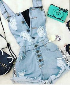 Pin by Sarah Comendatore on Outfit ideen in 2019 Pin by Sarah Comendatore on Outfit ideen in 2019 Cute Summer Outfits, Cute Casual Outfits, Pretty Outfits, Stylish Outfits, Girls Fashion Clothes, Teen Fashion Outfits, Cute Fashion, Vetement Fashion, Tumblr Outfits