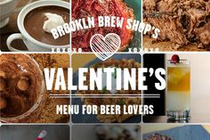 Check out Brooklyn Brew Shop's Valentine's Day menu for beer lovers