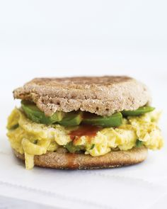 This nutrition-packed sandwich is easy to whip up for breakfast or lunch.