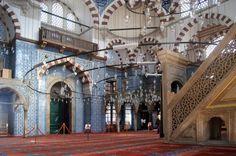 Interior of Rüstem Paşa Mosque, Istanbul
