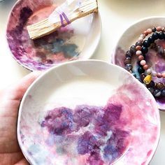 Handmade ceramics with pink clouds. Smudge bowl or jewelry dish. Organic Ceramics, Pottery Painting Designs, Cute Cups, Pottery Classes, Jewelry Dish, Ceramic Design, Ceramic Jewelry, Ring Dish, Ceramic Plates