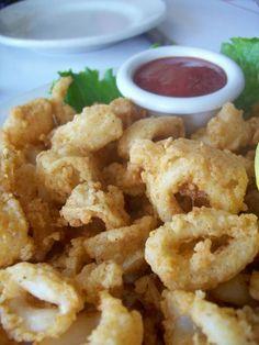 Calamari...appetizer...always