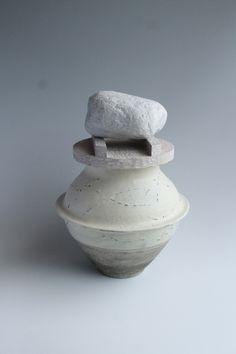 飾り壷『茶飯事』