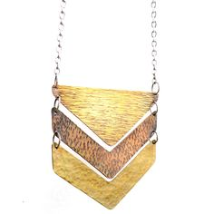 Chevron Necklace by Amy Wyckoff