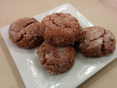 Ultimate Ginger cookies (key ingredient - cystallized ginger!)