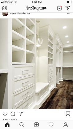 Amazing Closet Design Ideas For Your Home. Below are the Closet Design Ideas For Your Home. This post about Closet Design Ideas For Your Home was posted under the Furniture category by our team at July 2019 at pm. Hope you enjoy it and don& . Master Closet Design, Custom Closet Design, Walk In Closet Design, Master Bedroom Closet, Closet Designs, Wardrobe Design, Custom Closets, Master Closet Layout, Diy Custom Closet