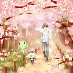 By あむ Sergeant Frog - Keroro, Tamama and Fuyuki #keroro_gunso