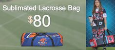 Lacrossewear's Sublimated Lacrosse Bag   Features: ·         Zipper end pockets ·         Optional Sublimated Number or Name ·         Durable Heavyweight Poly Material    To know more visit : http://www.lacrossewear.com/#!lacrosse-bag/c5gj