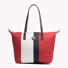 Tommy Hilfiger Red Tote
