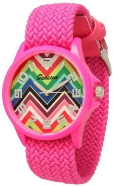 http://interiordemocrats.org/geneva-braided-fabric-rainbow-chevron-face-watchhot-pink-p-5800.html