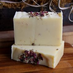 rose and ginger essential oil custom soap by old factory
