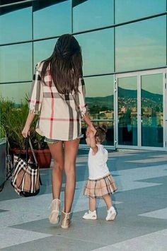 Mom and Daughter Matching Outfits.