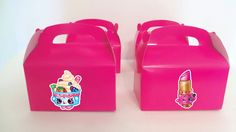 Shopkins party treat boxes  Shopkins goody bag by BirthdayPartyBox