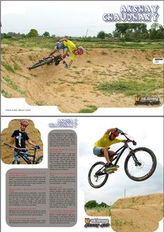 Check this out guys #younggun Akshay Chaudhary FRz and Pedalers Village featured in @mtbmagindia. Read the #issue12 at www.mtbmagindia.com  #mtbmagindia #pedalersvillage