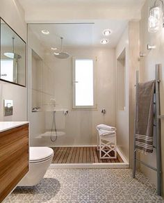 shower screen - arrangement - floor