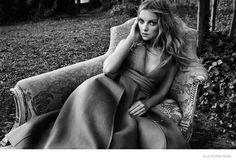 Heather Marks Models Dreamy Looks for Elle Russia by Xavi Gordo