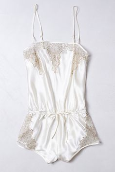 Ladies :) This is beautiful and should be worn in a boudoir session with me:) Coralie Romper #anthropologie