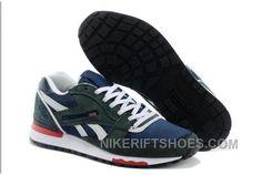 factory price 16095 a9cbe Reebok GL6000 Womens Classic Running Grey Deepblue Lastest PSFXc, Price    74.00 - Nike Rift Shoes