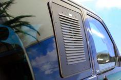 Lüftungsgitter Schiebefenster für VW T5/T6 - Fahrerseite
