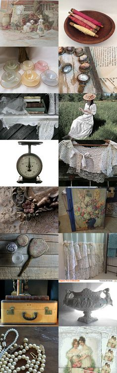 My vintage life by FrenchPaperMoon on Etsy--Pinned+with+TreasuryPin.com