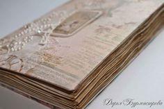 Как сделать винтажный блокнот своими руками с нуля