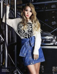 CL for DKNY x Harper's Bazaar (May) Magazine!