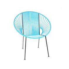 Innit Designs The Concha Chair ($400) ❤ liked on Polyvore featuring home, outdoors, patio furniture, outdoor chairs, outdoor patio furniture, outdoor garden furniture, outside patio furniture and patio chairs