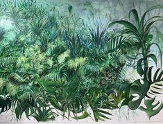 Antonio Bardino, ~Paesaggio laterale, olio su tela, 305x205cm