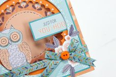 The third sneak peek at a project featured in your July edition using Official docrafts Page's new Owl Folk range! Out this friday! Order by calling 01778 395171 or visiting www.makingcardsmagazine.com