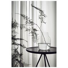 This week's is the SILENT vase and simple. Image by Solid Wood Table Tops, New Nordic, Black Side Table, Black White Art, Interior Decorating, Interior Design, Home Trends, Art Design, Scandinavian Design