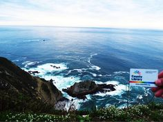Where in the World is your #LACountyCard? Ours traveled north up the lovely California coast and stopped at Big Sur - it's absolutely stunning. Yet another reason to love California! #lacountylibrary #lacounty #library #bigsur #librariesofinstagram