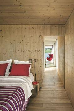 Maison en bois au Portugal : un lieu expérimental sur l'eau - Côté Maison