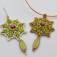 Polaris Earrings or Pendant | JewelryLessons.com $5