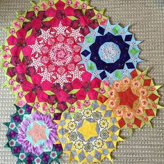 'Passacaglia with Mr Penrose' by Willyne Hammerstein, Millefiori Quilts