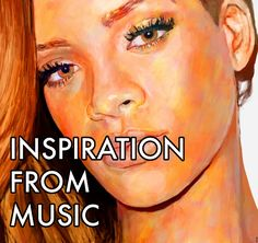 Using Music to Inspire your Creativity Beyonce, Rihanna, Source Of Inspiration, How To Stay Motivated, Artist Painting, Kanye West, Art Blog, Yeezy, Austria