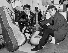 George and John with their gear
