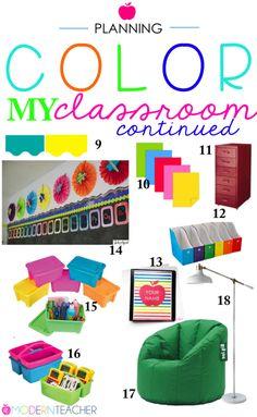 Classroom Planning: