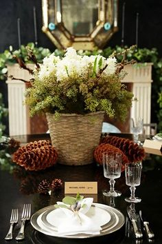 Michael Kors table setting