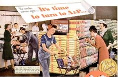 vintage a&p grocery store photos-Supermarkets/Grocery Store Rant (1940s)